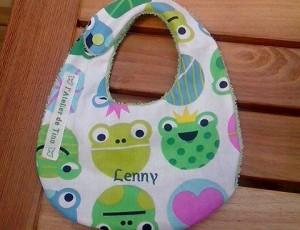 bavoir pour Lenny