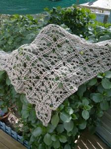 shawl terminé
